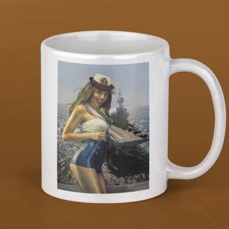 Mug pinup Marine Nationale 4