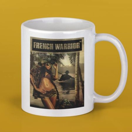 Mug pinup Légion jungle 2