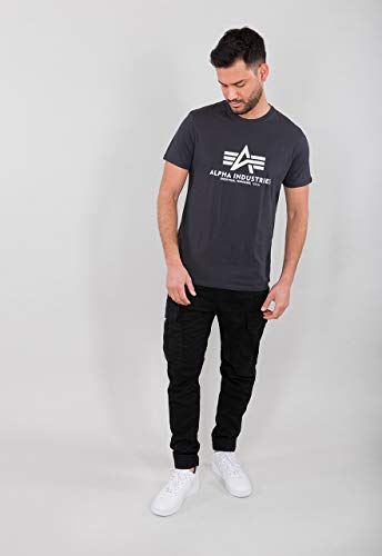 ALPHA INDUSTRIES Basic T-Shirt Tricot Homme 3