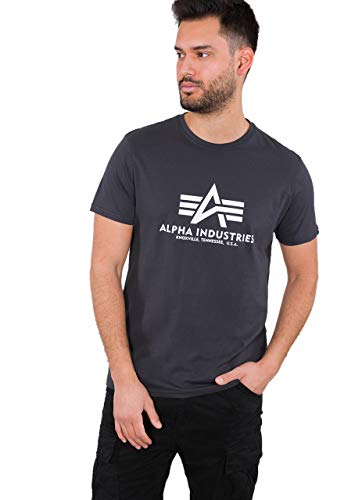 ALPHA INDUSTRIES Basic T-Shirt Tricot Homme 1