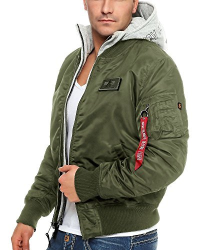 ALPHA INDUSTRIES Bomber Homme 1