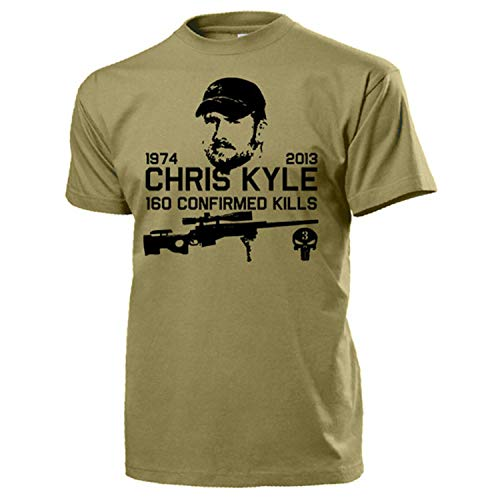 American Sniper T-shirt Navy Seal Team 3 Seals #15937 2