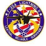 F-35 Lightning Notebook: (110 Pages, Lined, 6 x 9) 3