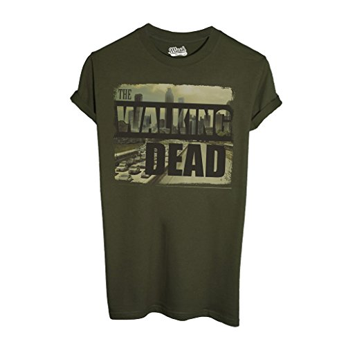 MUSH T-Shirt The Walking Dead City Skyline - Film by Dress Your Style 1