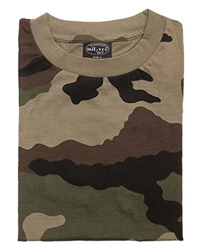 Mil-Tec US Army T-Shirt Camouflage léger 1
