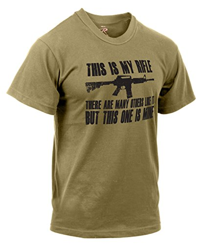 Rothco T-shirt avec inscription « This is My Rifle ». 1