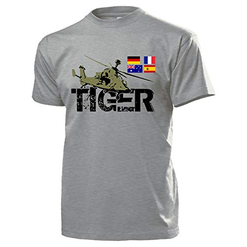 tiger helicoptère t-shirt