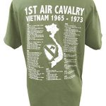 The Wooden Model Company Ltd T-shirt 1st Air Cavalry Division US Army Vietnam War Military avec motif Air Cav et… 6