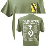 The Wooden Model Company Ltd T-shirt 1st Air Cavalry Division US Army Vietnam War Military avec motif Air Cav et… 4