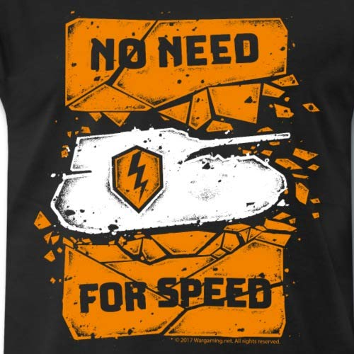 World of Tanks Blitz No Need for Speed T-Shirt Premium Homme 2