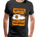 World of Tanks Blitz No Need for Speed T-Shirt Premium Homme 6