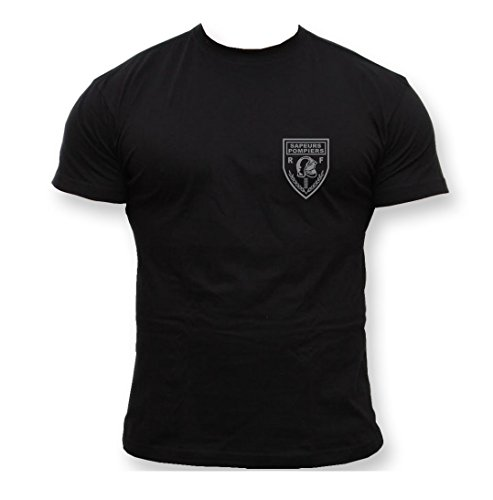 Rescue Point Fire Fighters France t-Shirt Homme KF4FR 2